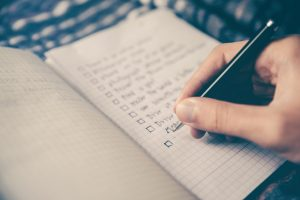 making checklist before moving into your parent's house in Miami Gardens